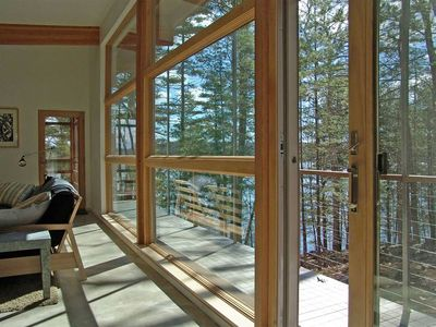 Photo for 3 Bedroom, 3 Bath Ecologically Sound Cottage on the Damariscotta River
