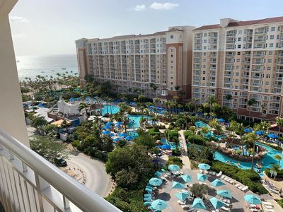 Photo for Oceanfront Resort in beautiful Palm Beach, Aruba with activities for everyone in the family!