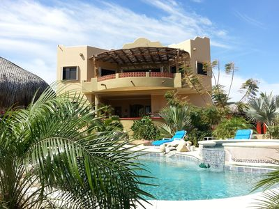 Photo for Mini Resort!  Garden Of Eden With Private Pool, Hot Tub & Steps From The Beach