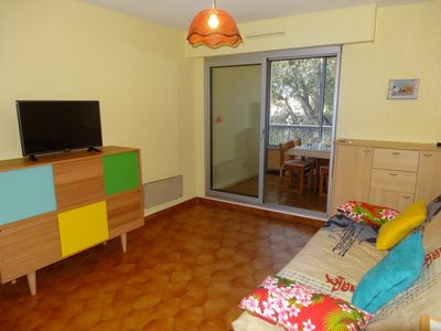 Photo for Comfortable studio 150 meters from the beach