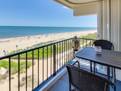 Photo for Sparkling oceanfront condo with balcony and incredible view