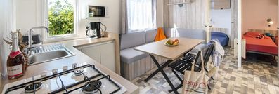 Photo for Camping des Albères **** - 5-room mobile home Quattro 8 people