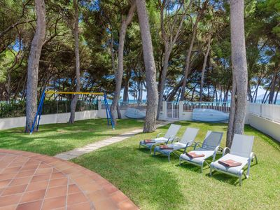 Photo for YourHouse Ginesta, modern apartment with direct beach access for 6 guests