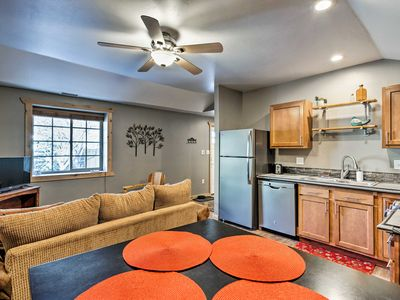 Photo for NEW! Ouray Apartment w/Shared Grill on Main Street