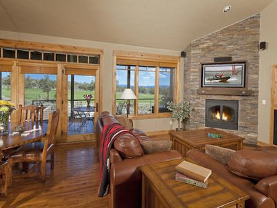 Photo for New Official Resort Listing! 3-Bedroom Brasada Cabin with Hot Tub