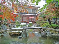 """We kept wedding seremony in this beautiful, big """"samurai""""-house. House was traditional japanese"""