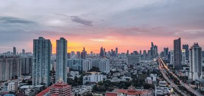 Photo for Modern 2 Bedroom Suite with City Views near Sathorn Rd.