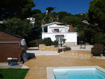 Photo for House close to Platja d'Aro with private pool, sea view and parking.
