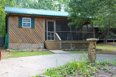 The Enchanted Hideaway Cabin ... a great place to relax and getaway.