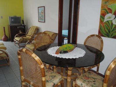 Photo for Ubatuba 100mts from P. Great! Beautiful!  2qts - 2WC Air conditioning! up to 8 WIFI