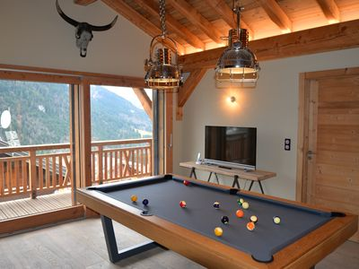 Photo for STANDING chalet with SPA SAUNA for 16 people in CHÂTEL