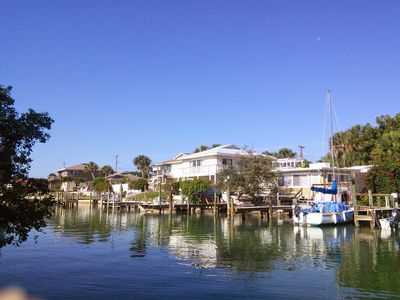 Casey Key 2-Bed Dockside Penthouse with Beach Access