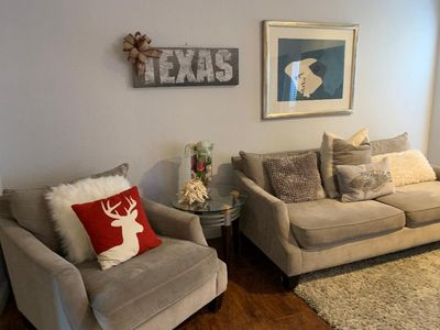Photo for Cozy, clean,  quiet 2Bd/2Ba fully furnished codo in the heart of Galleria