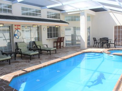Photo for 3 bedroom 3 bathroom pool & spa home villa at gated community Lindfields Reserve near Disney, Orlando