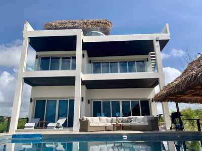 Photo for Brand NEW First Class Luxury Beachfront Vacation Villa! 20% OFF JULY