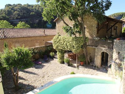 Photo for Le refuge - A great holiday rental in Fontaine de Vaucluse near the Luberon
