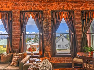 Photo for Leadville's Historic Loft w/ a Beautiful View + Sauna!
