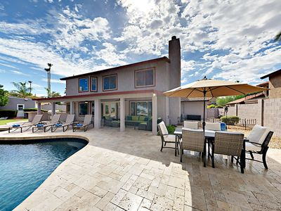 Pool - Spend sunny days in your backyard oasis on the pool deck.