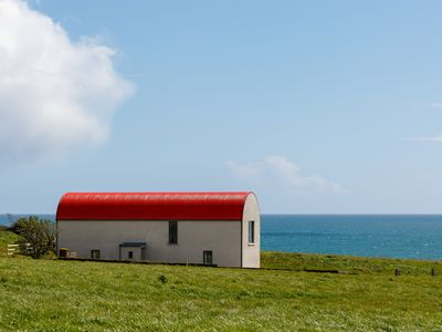 "Photo for ""Redhead"" Oceanfront Modern Barn—A stunning coastal environment sanctuary!"