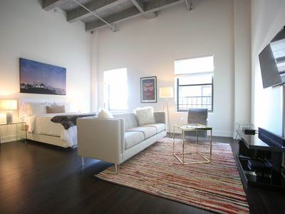 Photo for URBAN FLAT - Premier 1BR+1BA Private Flat for 4 | Located in Prime DTLA