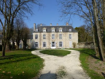 Photo for Charming cottage in 18th century castle near Paris and Orleans