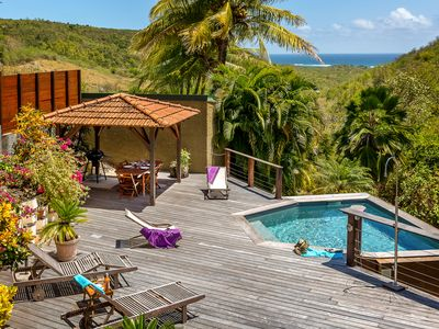 Photo for Coconut Villa Villa, Pool, Garden, Sea View