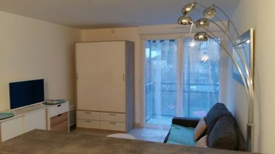 Photo for Beautiful south facing apartment in a new residence close to the beach