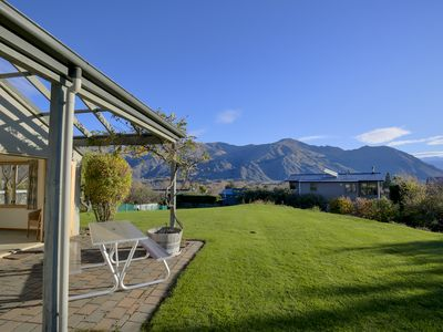 Photo for Amazing mountain views | Spacious, bright and warm | Generous outdoor space