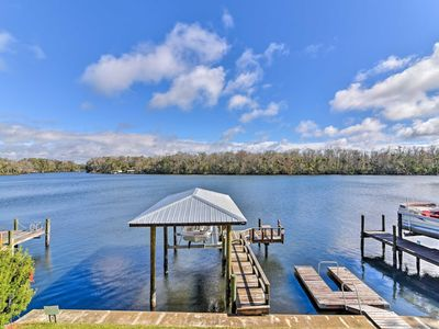 Photo for Homosassa Home w/ Private River Dock & Boat Ramp!