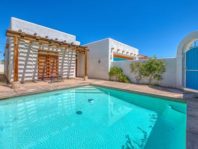 Photo for Dog-friendly Santa Fe-style home w/ mountain views & a private pool