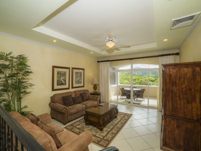Photo for Colina 5D, 3Bdrs, 2Bath, Golf course/Rainforest View