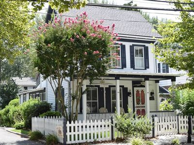 Photo for The Side Porch Cottage on Cape May's Historic Washington Street