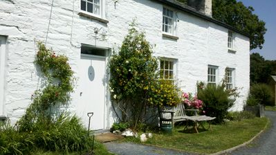 Photo for 4BR Farmhouse Vacation Rental in Cwrt, Powys
