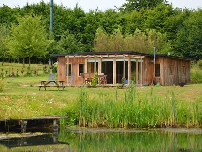 Photo for Cottage surrounded by ponds in the heart of a quiet property.