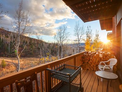 Photo for Condo on the Mountain with Wood-Burning Fireplace!