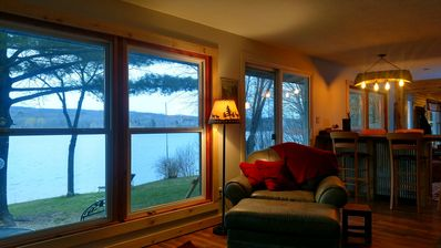 Year-round, Spacious Lakefront Cabin--Near ... - VRBO