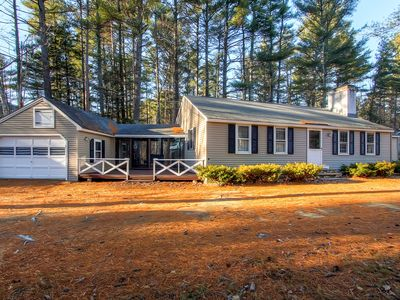 Photo for 3BR Cabin-Style North Conway Home w/Mountain Views