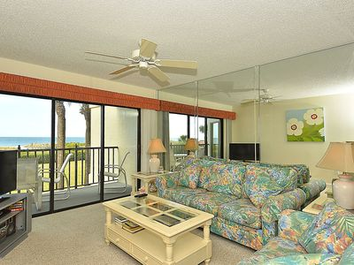 Photo for Land's End #203 building 7 - Private Balcony / Beachfront / Gated Community!