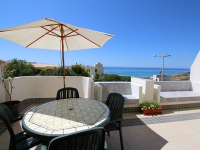 Photo for Modern 1 bed apartment with Portuguese character with sea view and communal pool