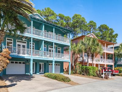 Photo for Peaceful Pearls townhouse. Gulf and lake views just off 30A. Roomy & Restored