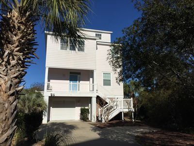 Photo for The Pink House - 6 Bedrooms, 7 Baths, Lake, Ocean, Pool Views - 2 Min To Beach!