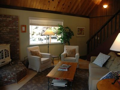 Photo for Espinosa: 3 BR / 2 BA house and ski lease in Carnelian Bay, Sleeps 6