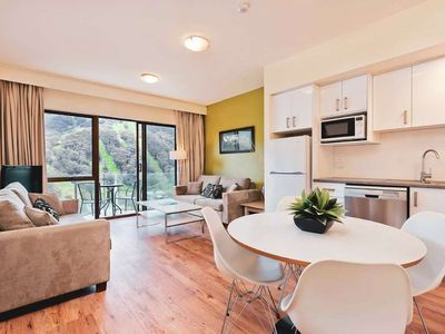 Photo for Balcony apartment with sweeping views in the heart of Thredbo