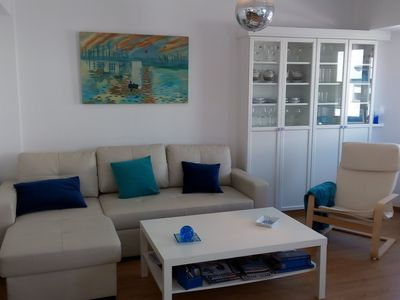 Photo for Charming and modern apartment in a tourist village 100m from the beach