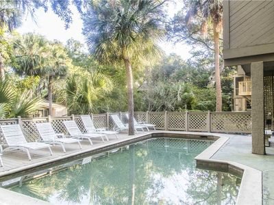 Photo for 5 Sea Oak | Private Pool w/ FREE Seasonal Heat | Steps to Beach | Gourmet Kitchen