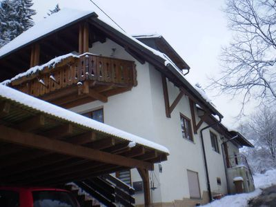 Photo for Haus am Bach - Apartment 30sqm, 1 living room / bedroom, max. 3 persons