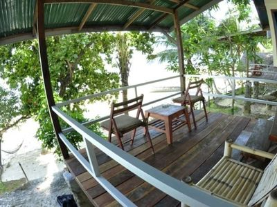 Photo for Fantastic Air Con bungalow - Sea View