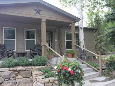 Photo for Elegant Riverside Cottage: Private Fishing, Ski Wolf Creek, Golf Rio Grande Club