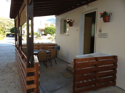 Photo for Two bedrooms Apartment ground floor 70sq.m 50 meters near the sea and mountain