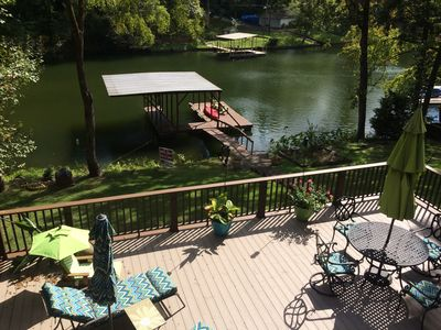 Photo for Secluded Getaway on Lake Hamilton 4br/3ba